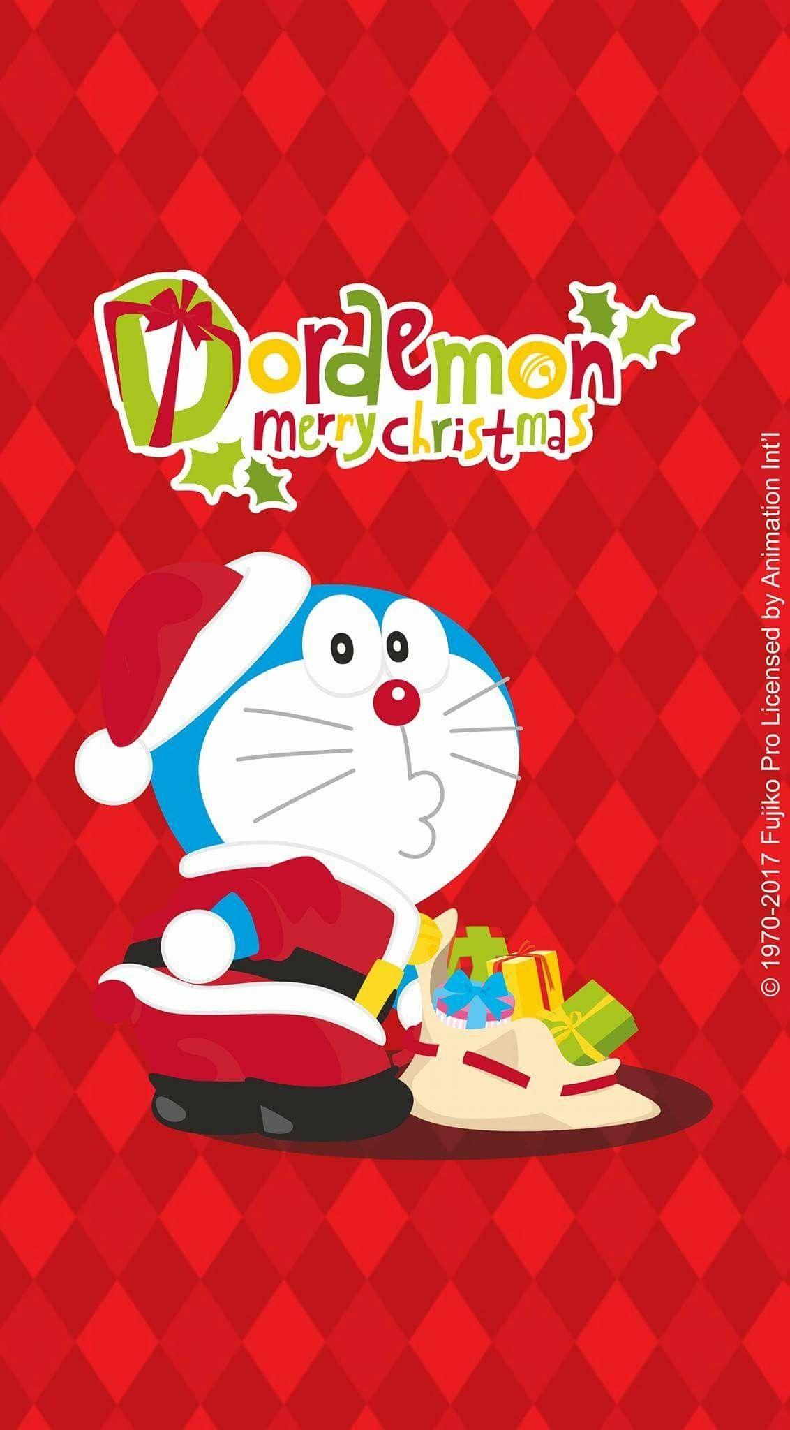 Doraemon / Merry Christmas Giáng sinh, Ảnh tường cho