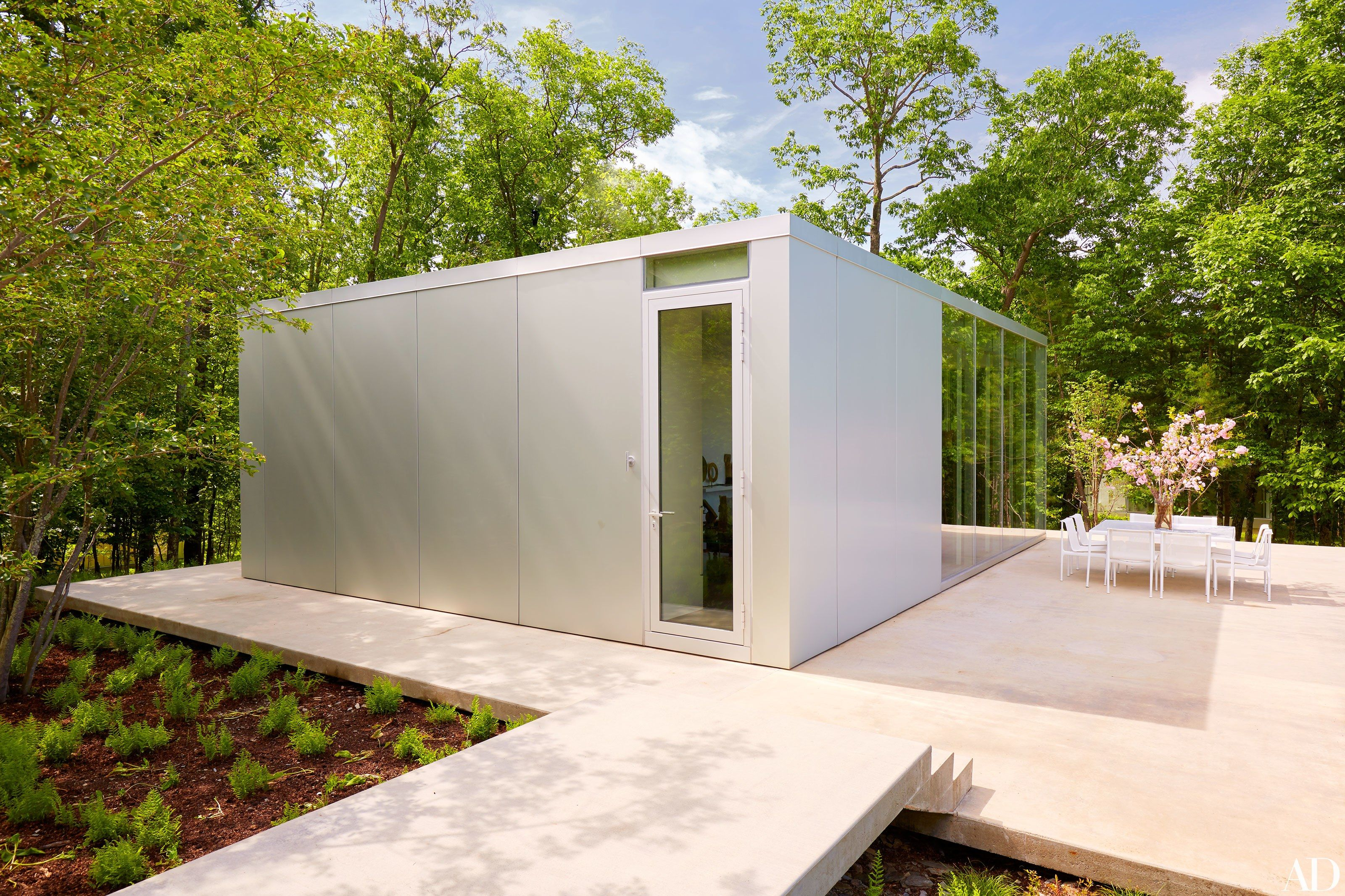 Nice Toshiko Moriu2013Designed Glass Houses Dot This Incredible Hudson Valley  Compound Photos | Architectural Digest...the Cooking Pavilionu0027s Aluminum  Cladding With ...