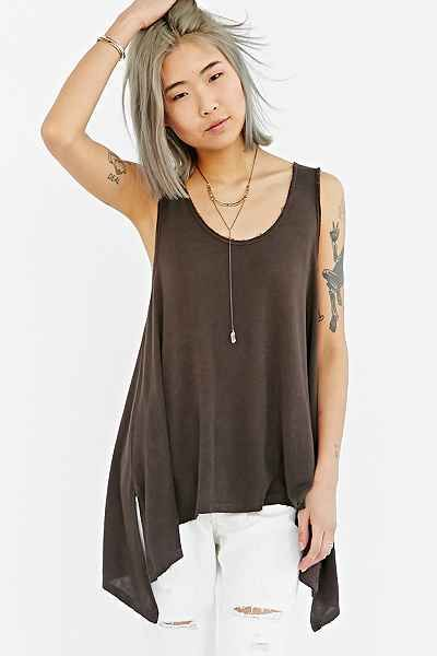 aba64ac635d3a Truly Madly Deeply Dropped-Armhole Tank Top - Urban Outfitters ...
