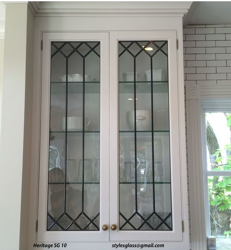 Beautiful Affordable Custom Glass Cabinet Door Inserts Inside