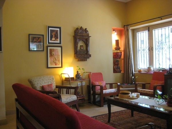 A Home In Hyderabad Earthy With Lots Of Indian Sensibilities Art