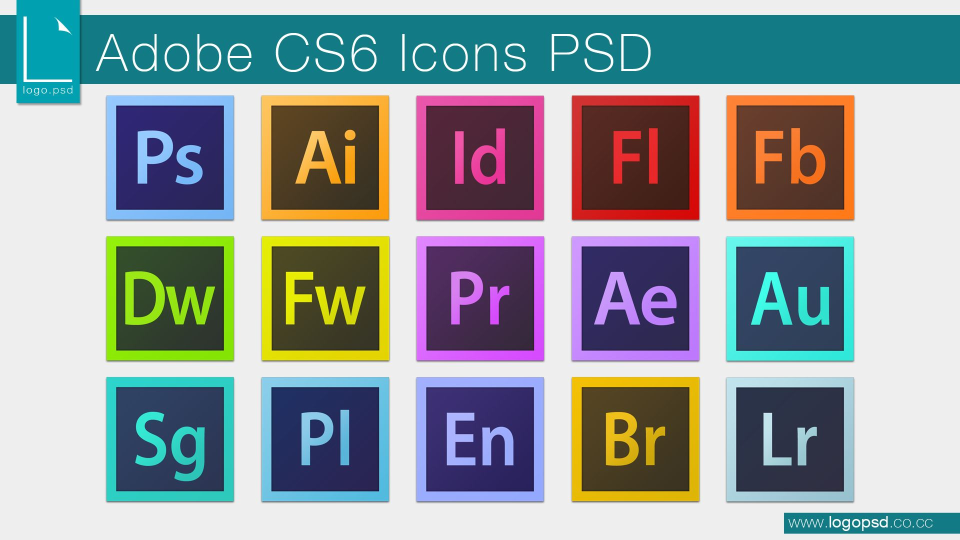 Adobe Cs6 Icons Fully Layered Psd Now Available By