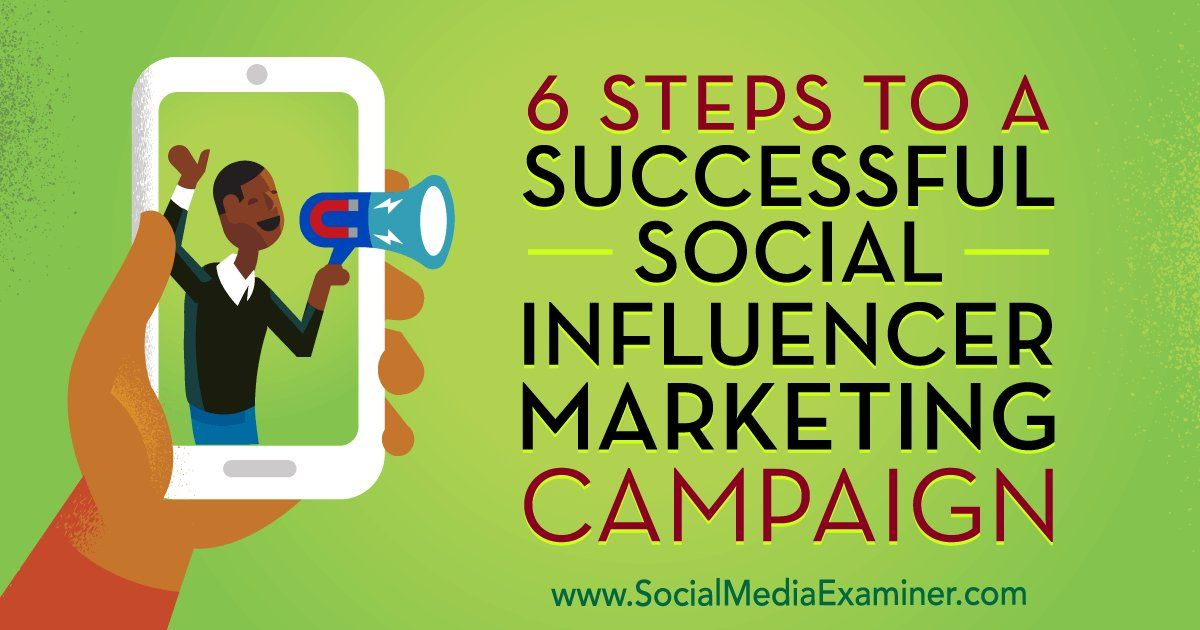 Steps To A Successful Social Influencer Marketing Campaign