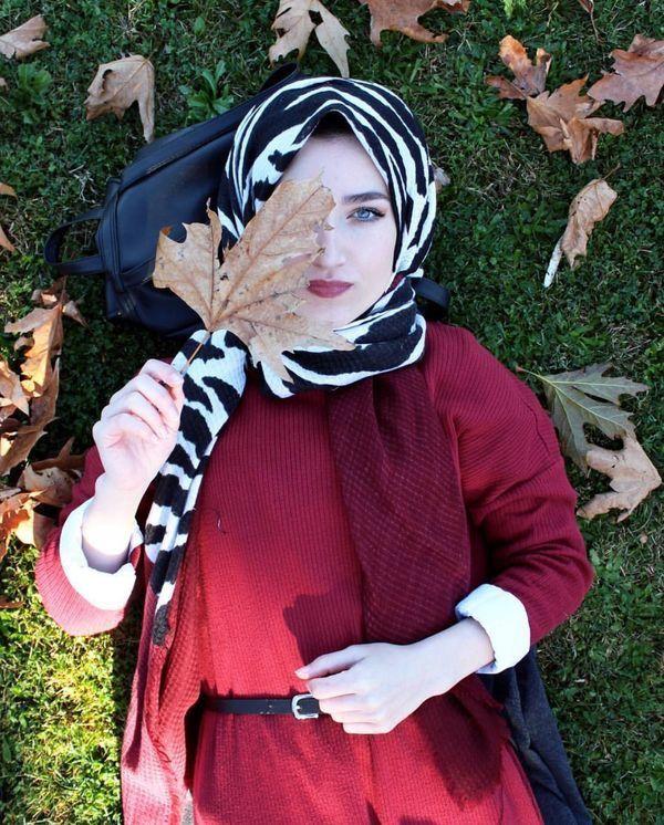 Hijab fashion image by The Black Cat ᵜ ᏉʝԹ ️😌 on بــــنات