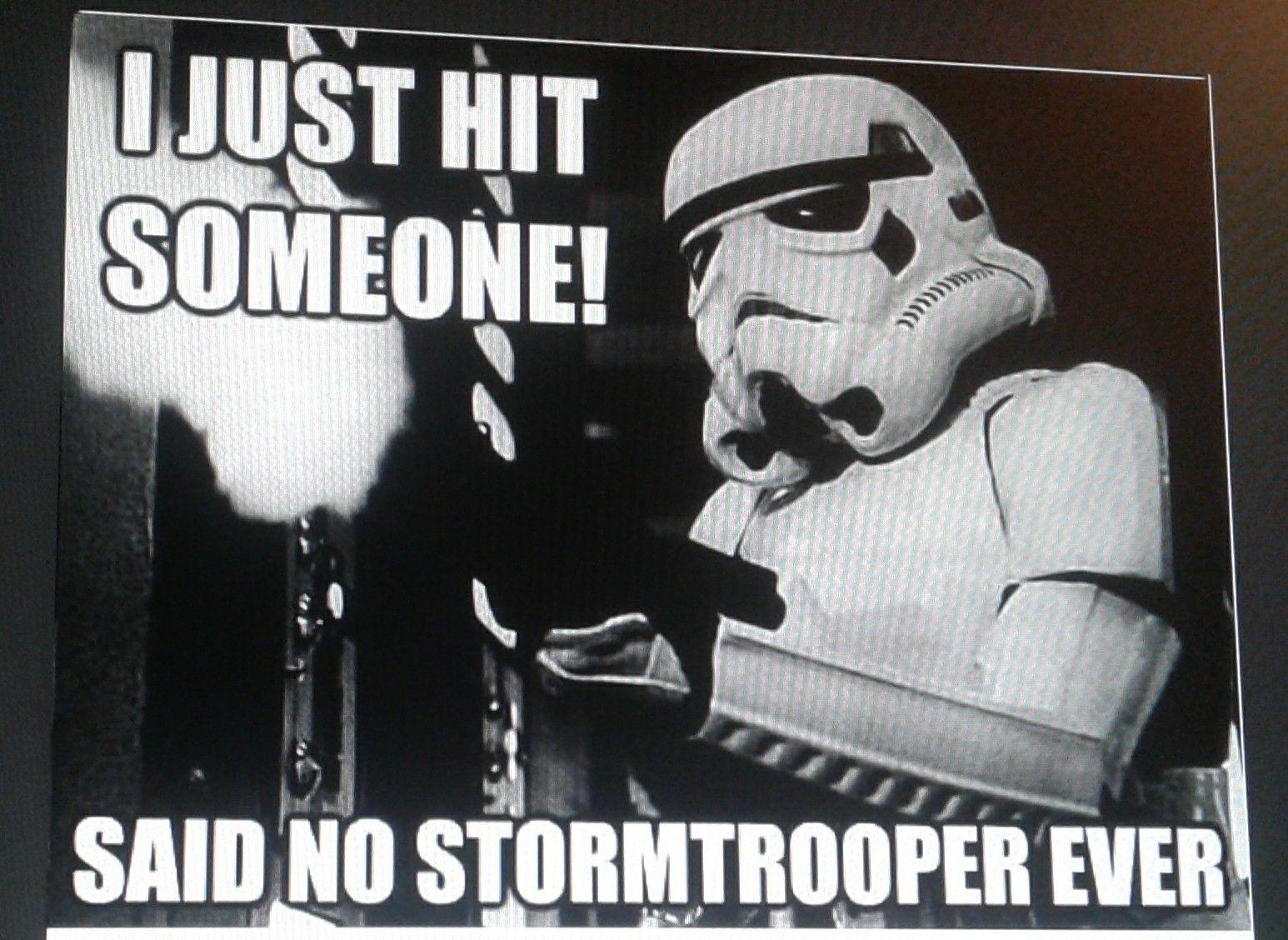 True Stormtrooper Meme Star Wars Memes Funny Memes Star Wars