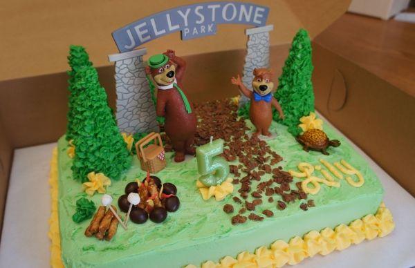 My next project.. A Yogi Bear cake for my cousin Lauren!