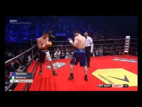 Beterbiev Knockt Maderna In Der 4 Runde Aus Boxen1 Com Aktuelle Boxsport News