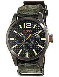 73536f509 Hugo Boss Orange - Reloj análogico de cuarzo con correa de tela para hombre  - 1513312 Relojes Hombre #ElRegaloPerfectoParaNavidad #Trindu