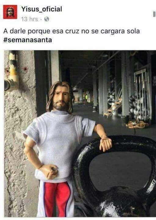 14 Memes Para Reir Con Cristo En Semana Santa Memes De Jesus Memes De Vacaciones Semana Santa Memes