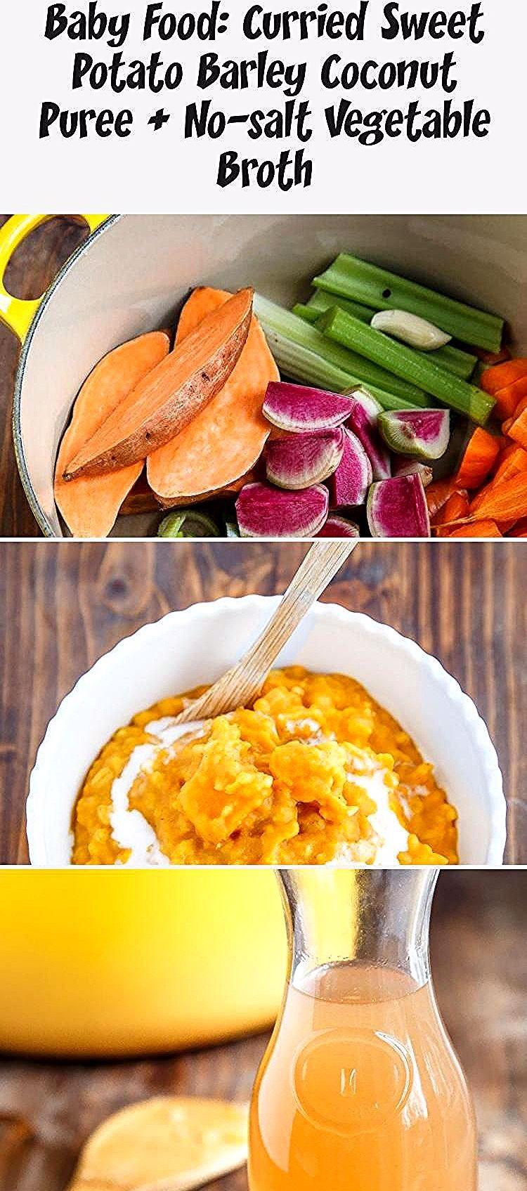Homemade baby food: sweet potato barley and coconut milk ...