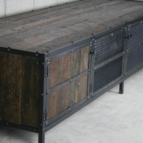 Industrial Look Furniture With An Antique Design
