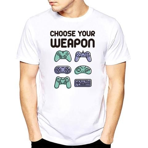 Choose Your Weapon Gaming Tshirt