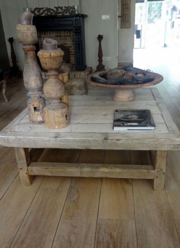 Het Moonhuis: De woonkamer   Steigerhout/ pallets/ hout   Pinterest ...