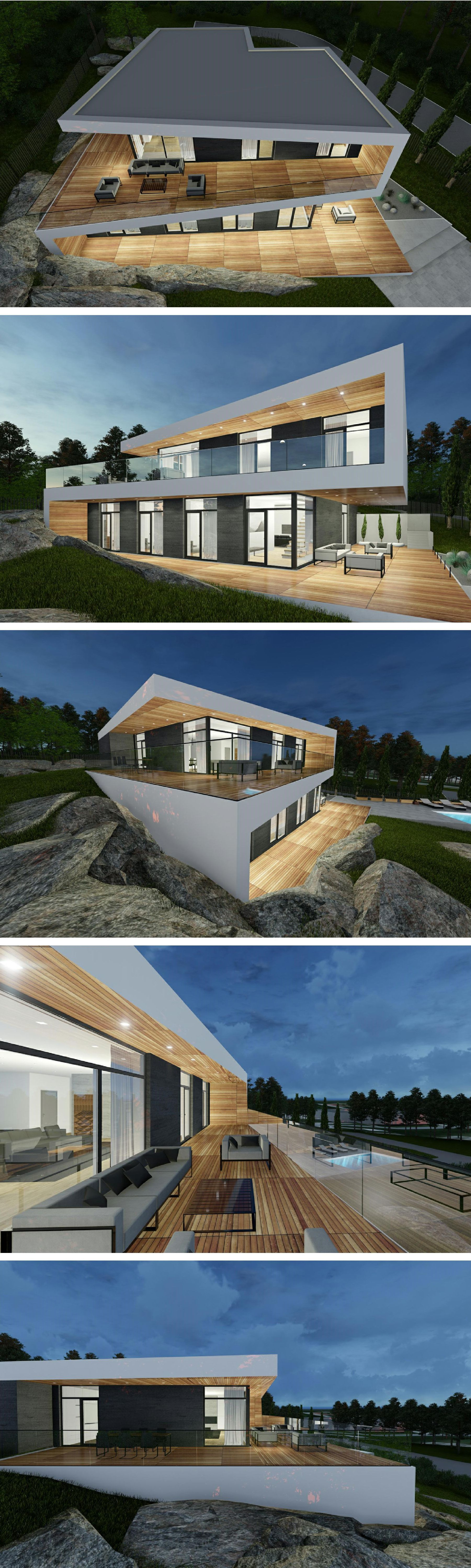 modern villa in Stockholm by Ng architects www.ngarchitects.lt