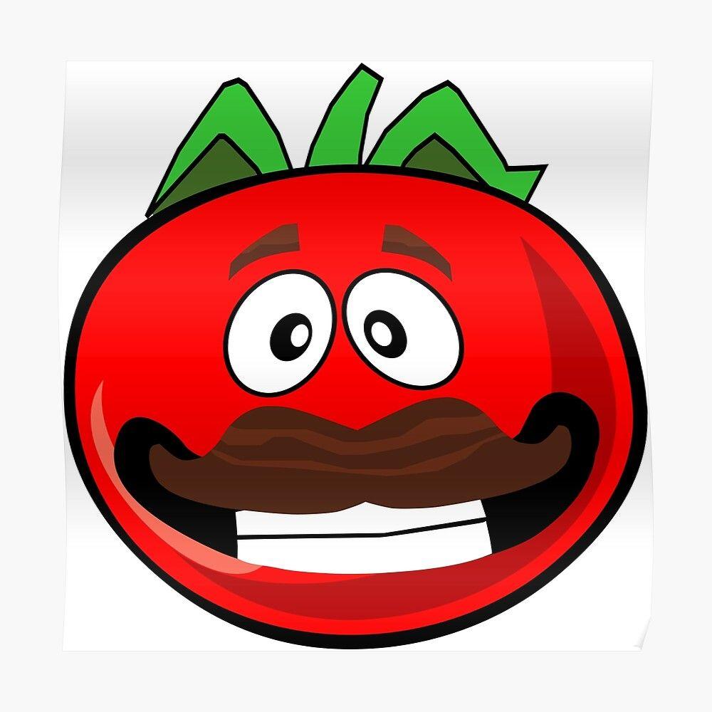 Pegatina Hombre Tomate De Gam3rags Redbubble Dibujos De Juegos Pegatinas Arte En Lienzo Facil