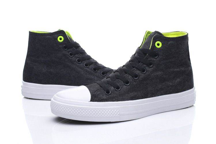 1ac4a41807 Converse Chuck Taylor All Star II Japan Black Reflective Wash High Green   converse  shoes
