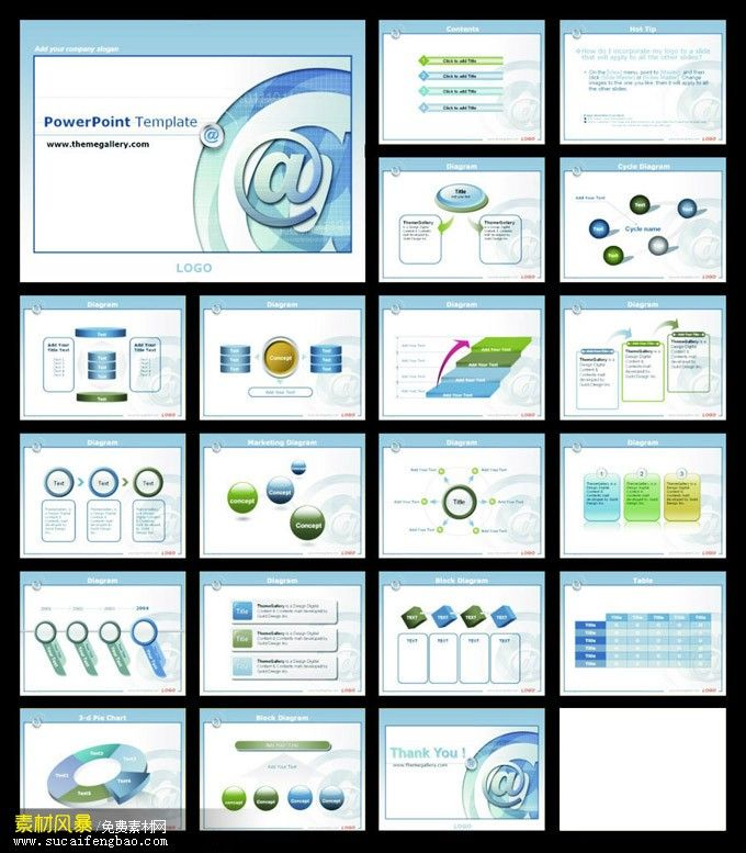 Microblogging marketing PPT templates slide analysis report #PPT - analysis report template