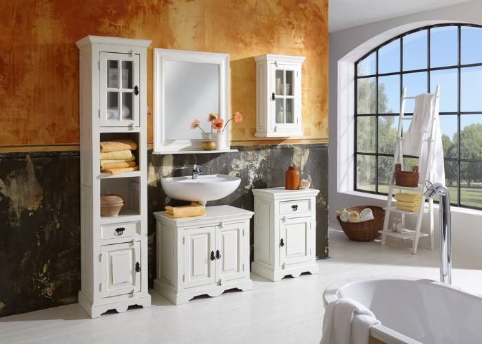 Perfekt Badezimmer Set Toledo   Ihr Neues Badezimmer? #bathroom #Moebel #moebilia  #landhausmoebel