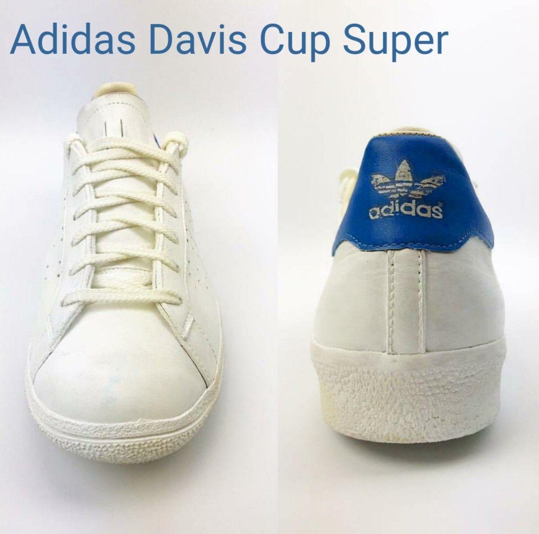 size 40 c70cc 99042 Vintage Adidas Davis Cup Super, made in Austria 1976
