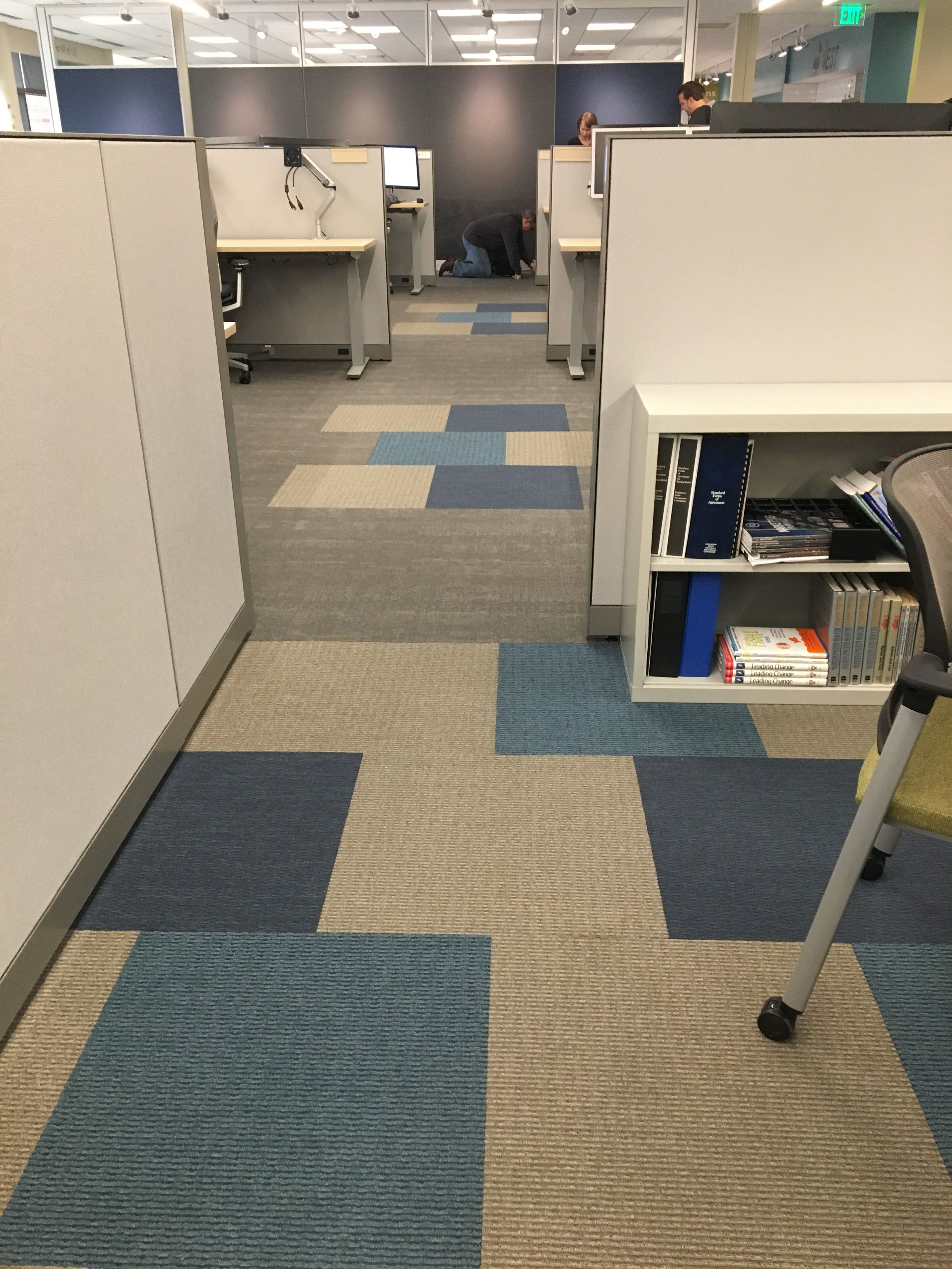 Ef Contract S The Brights With Flip Side Carpet Tile 24 X 24