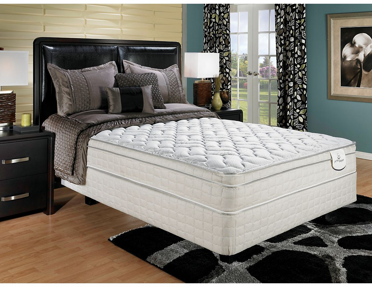 Serta Perfect Sleeper Watsford Euro Top Plush Queen Mattress And