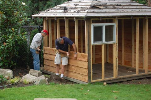 Bekannt Comment construire une cabane | Woodworking plans, Woodworking and  PM82