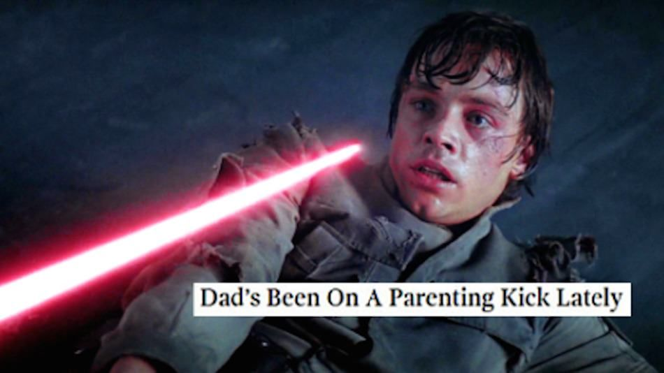 'Star Wars' Photos Mashed Up With Titles From 'The Onion' | Pleated-Jeans.com