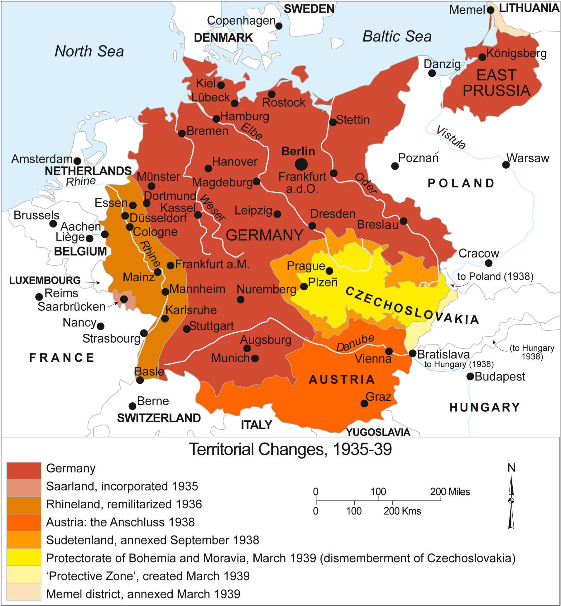 Map Of German Expansion Just Before WWII X History - Germany map pre ww2