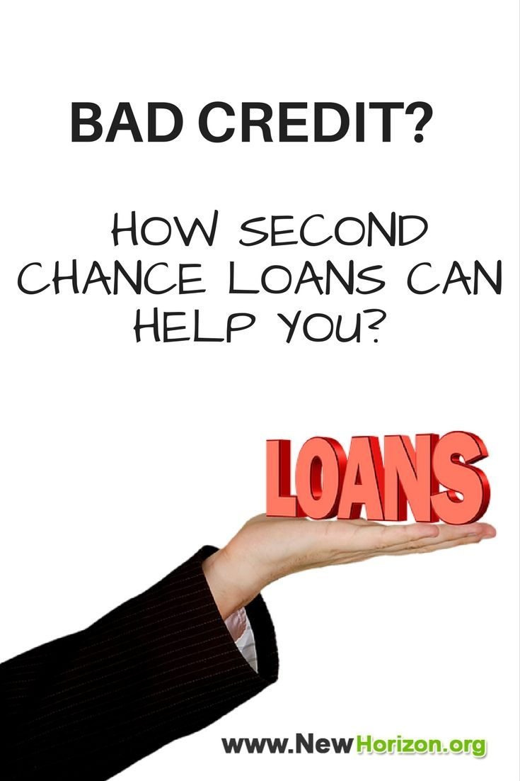 Second Chance Loans for Bad Credit - Personal Loan Tips ...