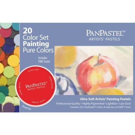 Armadillo Art and Craft Panpastel Ultra Soft Artist Pastel Painting Set 20-Pack