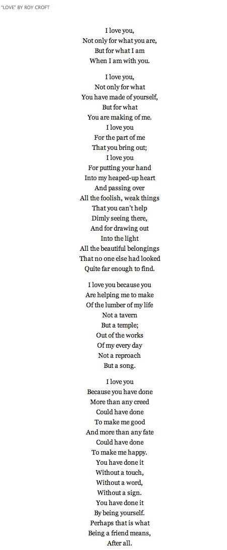 This Poem Speaks When Words Cant About How I Feel You