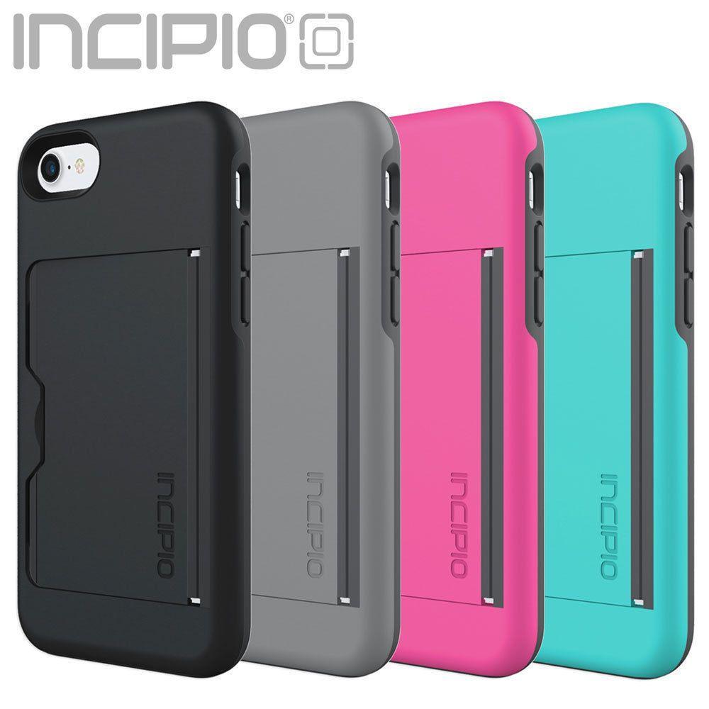 on sale 32f68 d5507 Incipio Stowaway Credit Card Id Kickstand Hard Shell Case For Iphone ...
