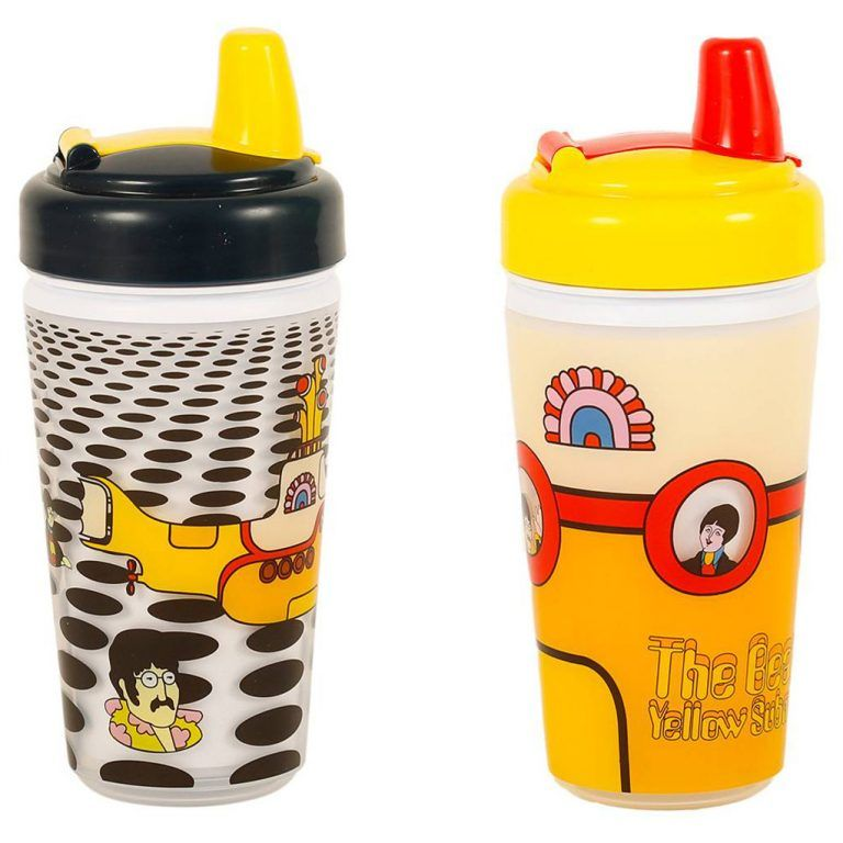 The Beatles Feeder Pack In 2020 Sippy Cup The Beatles Yellow Submarine Album