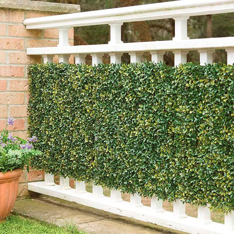 Faux Greenery Outdoor Privacy Panels Privacy landscaping