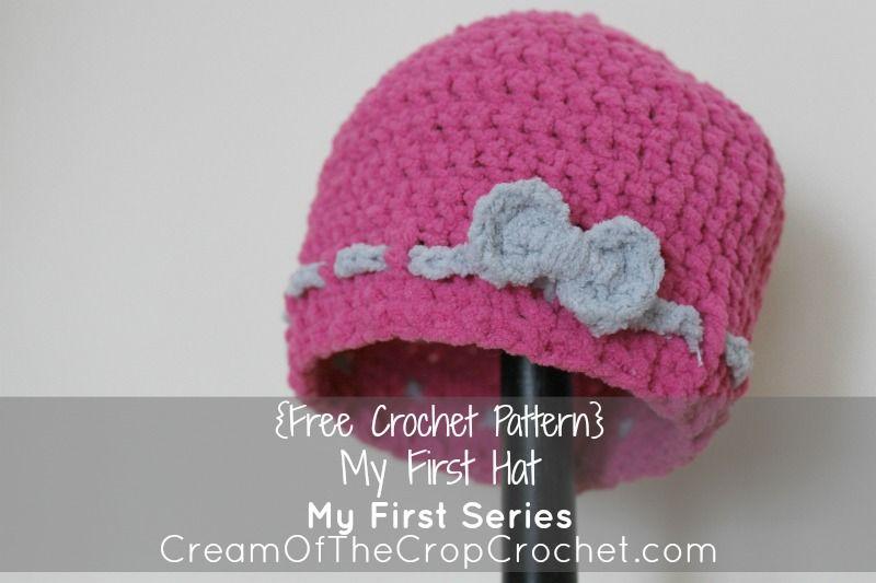 Cream Of The Crop Crochet ~ My First Hat {Free Crochet Pattern ...