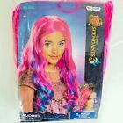 Disney Descendants 3 Audrey Wig 2019 Halloween Costume Accessory Pink Blue Hair #Costume #audreydescendants3
