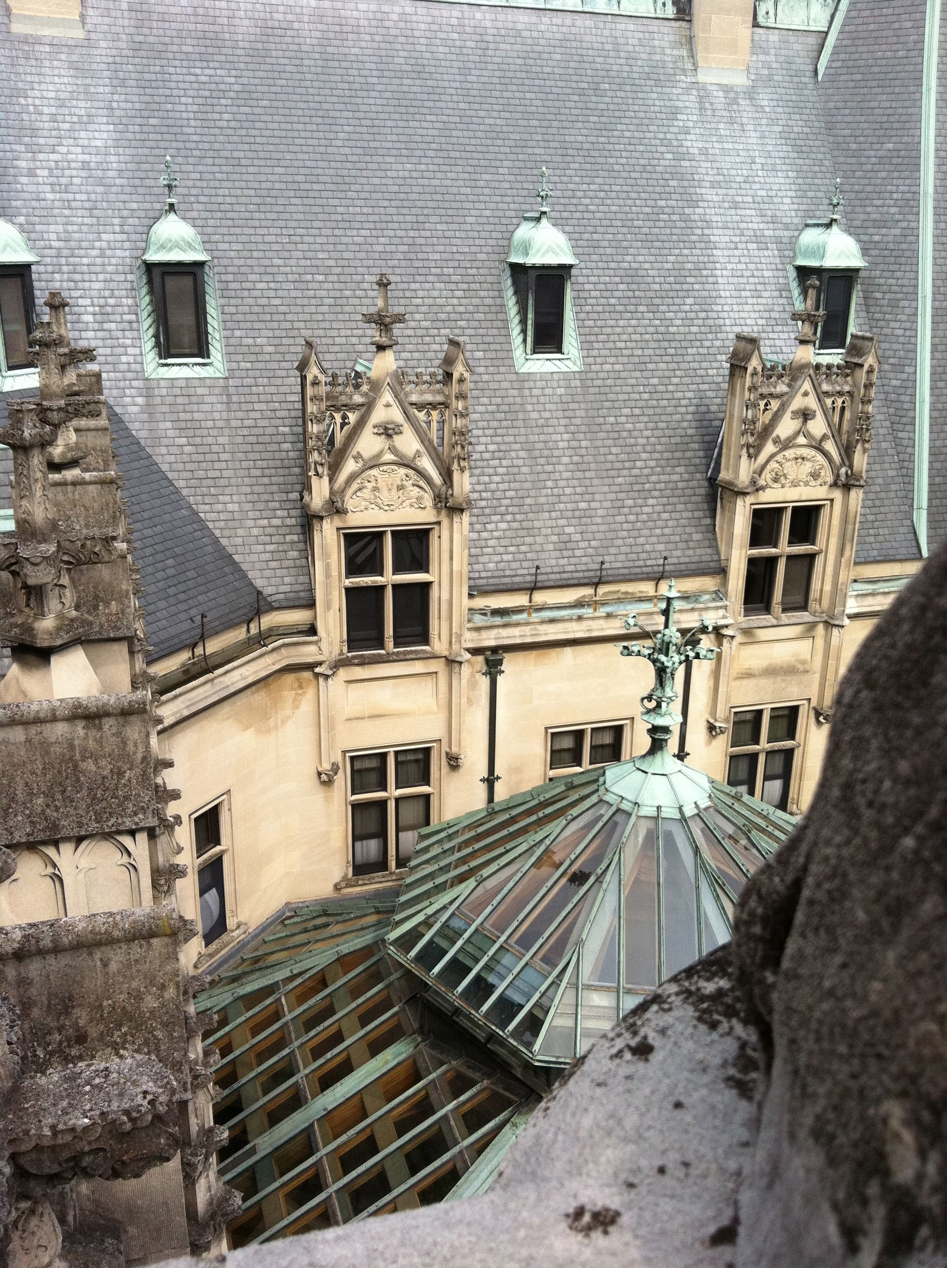 Rooftop Tour & Winery Biltmore Estate In Asheville