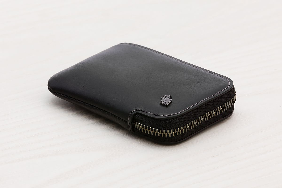 f73a9448ec905 Bellroy Card Pocket in Black. | Leather