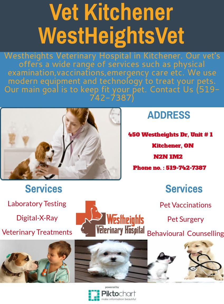 Westheights Veterinary Hospital in Kitchener.Veterinary care ...