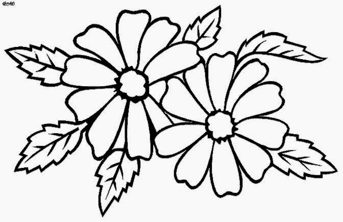 Coloring Book Flowers ClipArt Best | Gourds with colored pencils ...