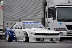 Spin Out Club sharknose Z10 Toyota Soarer on SSR MKIII | ck