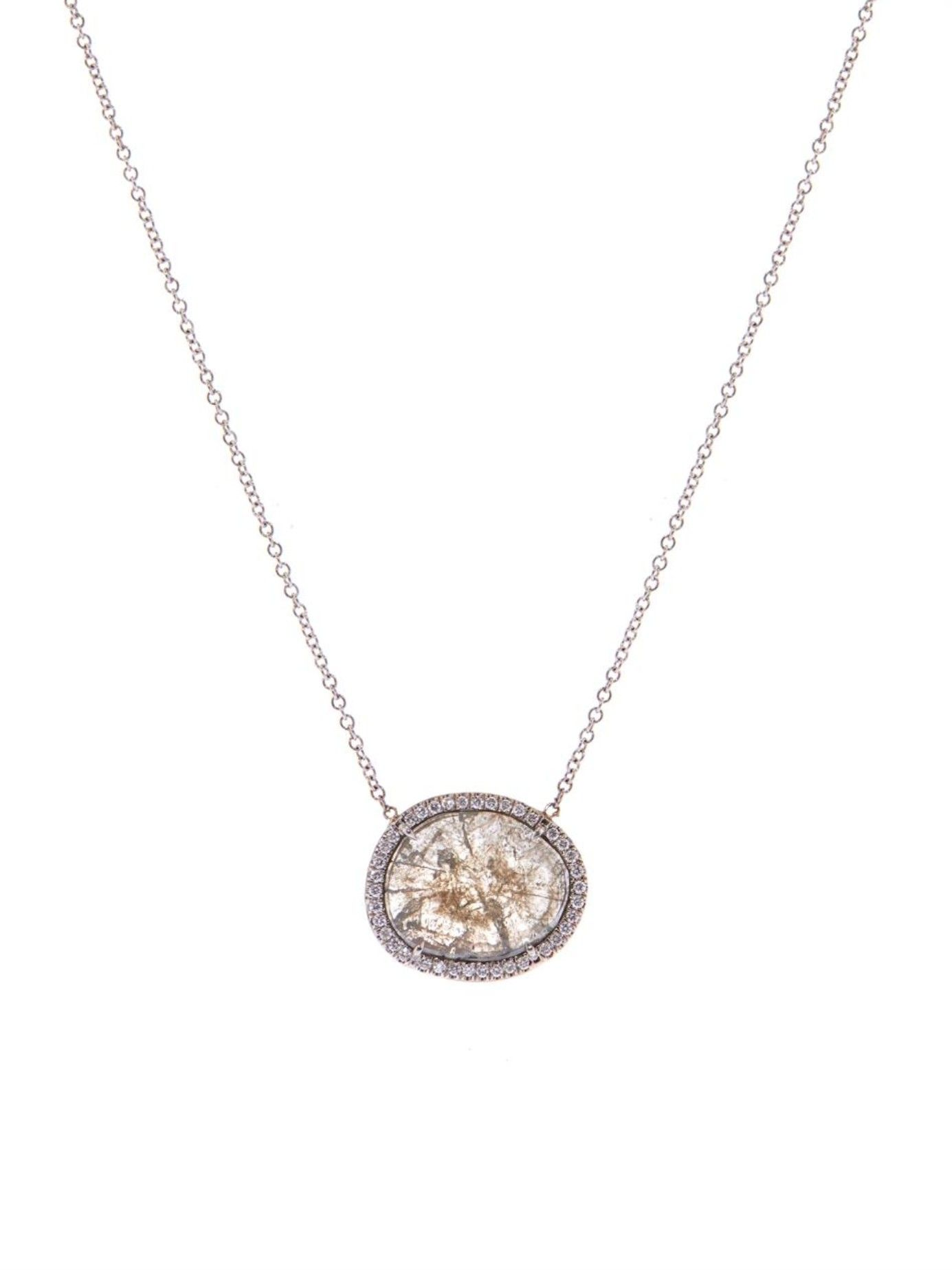 c4e7faf72 Diamond & white-gold necklace | Susan Foster | MATCHESFASHION.COM UK ...