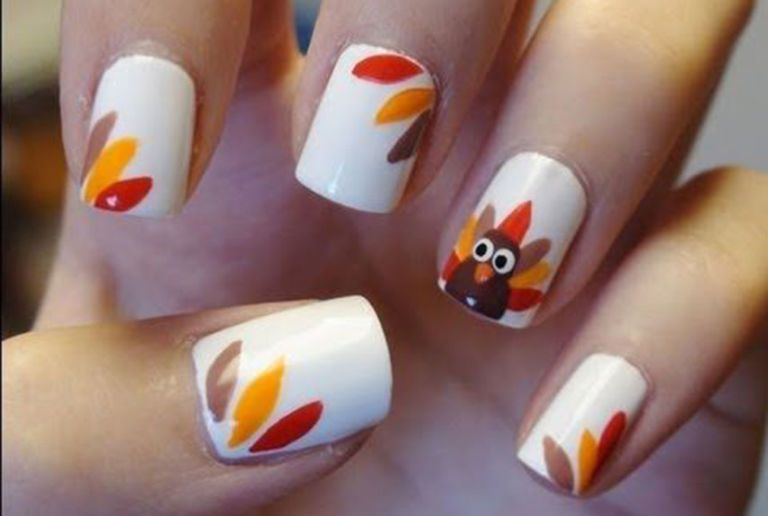 Holiday Nail Art Inspiration: Thanksgiving