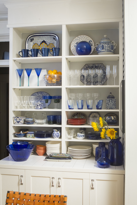 pinched vase cobalt in 2020 blue kitchen decor white kitchen decor cobalt blue kitchens on kitchen decor blue id=71206