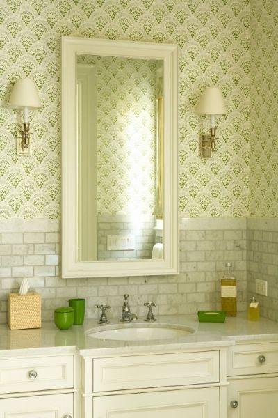 Pin by Barclay Stone Interiors on Powder/Bath Room | Pinterest ...