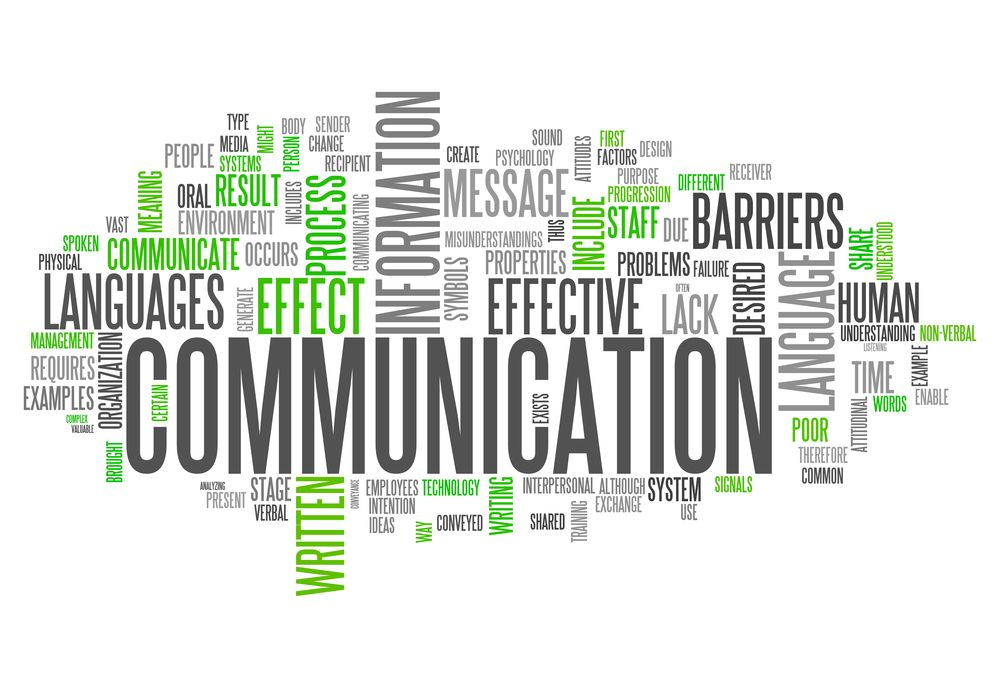Communication is key Good communication, Communication