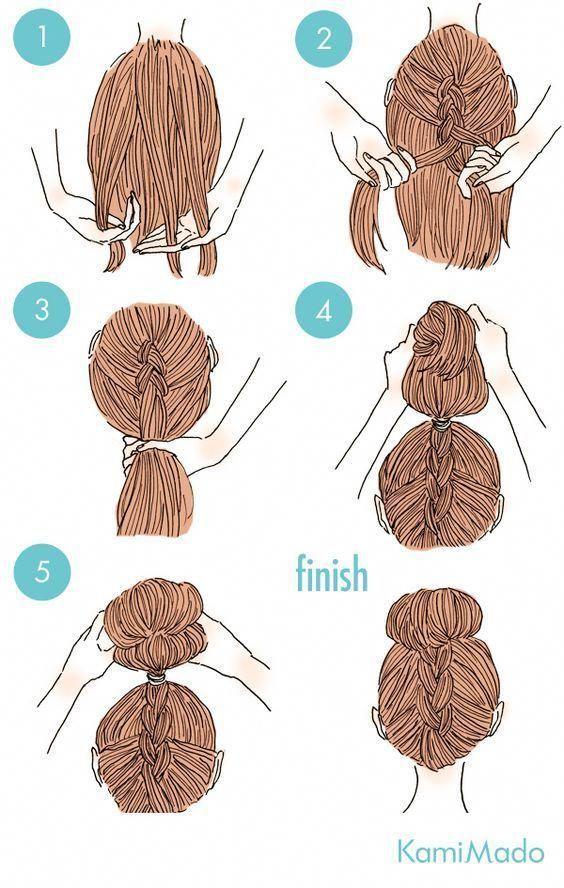 Stilvolle einfache Frisuren für die Schule #easyhairstylesforschool Hair #Die #easyhairstylesforschool #Einfache