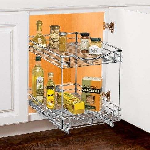 Best Lynk Professional 14 X 21 Slide Out Double Shelf Pull 400 x 300