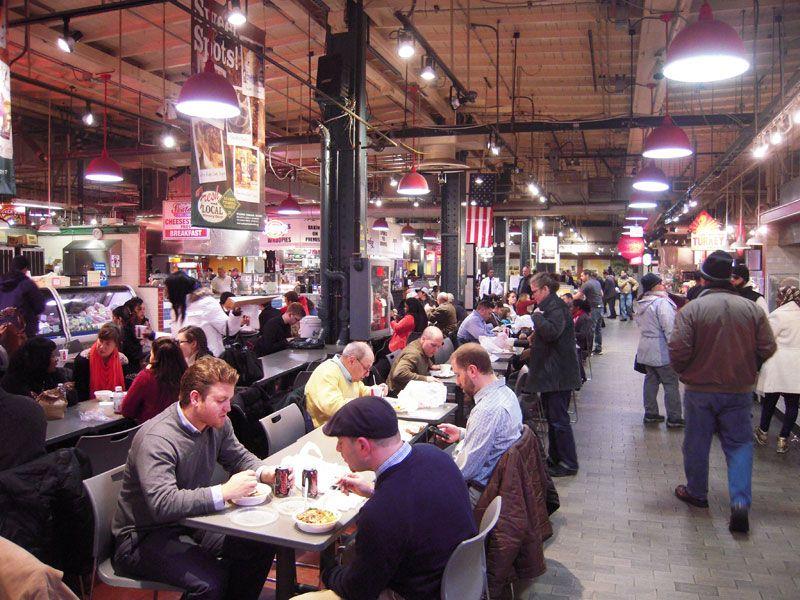 Food Market Reading Terminal Market Pennsylvania Travel Philadelphia
