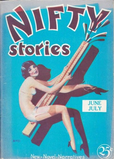Jun 1930 Nifty Stories Vintage Magazine Cover